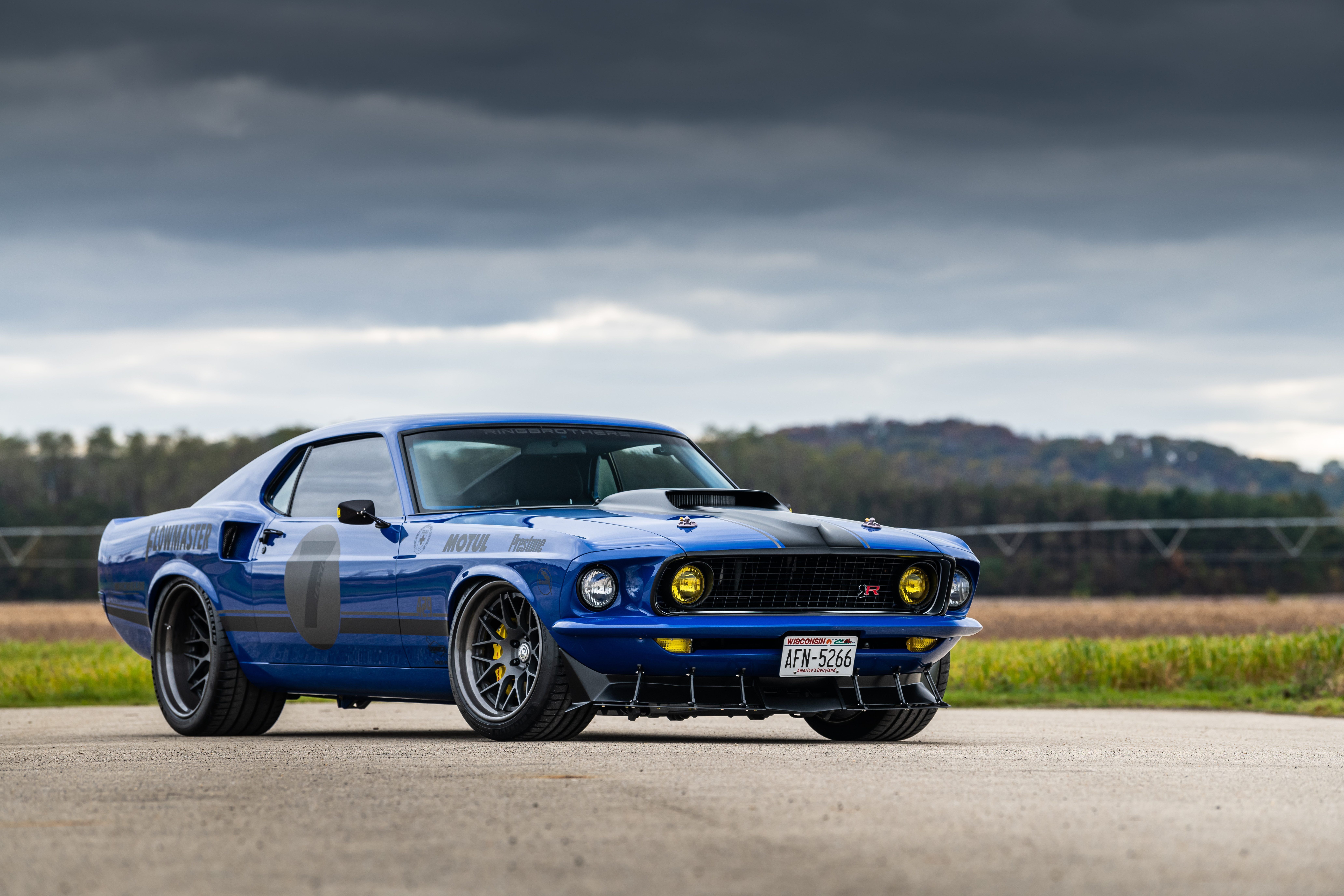 Ford Road 1969 Lights Ford Mustang Muscle Car Mach 1 Classic Car Sports Car Hre Wheels Ford Mustang Mach 1 By Rin Mustang Mach 1 Mach 1 Muscle Cars Mustang