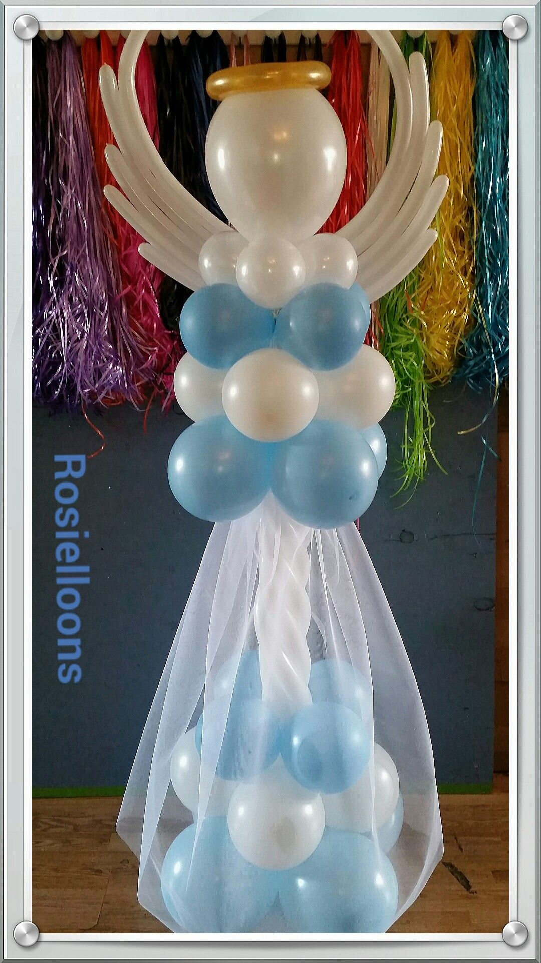 Rosielloons angel balloons pinterest communion