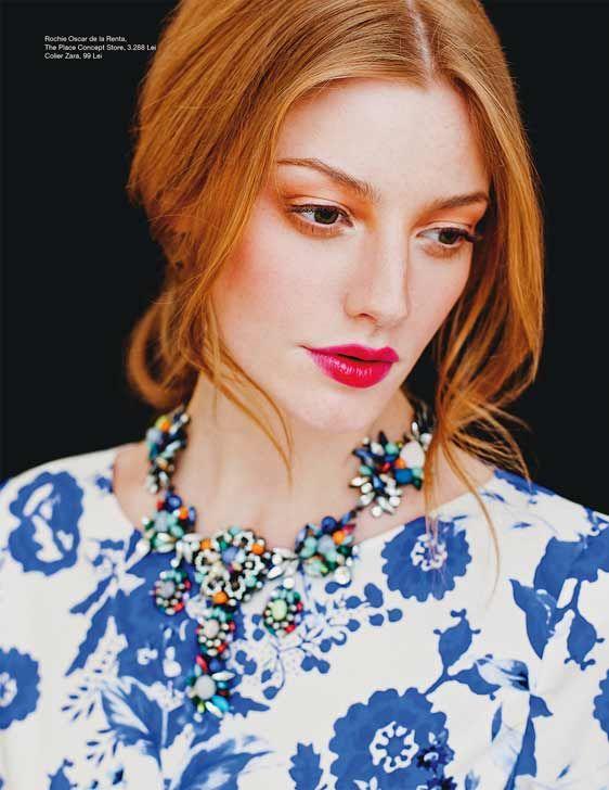 Beau Monde March 2014.  Makeup: Diana Ionescu.