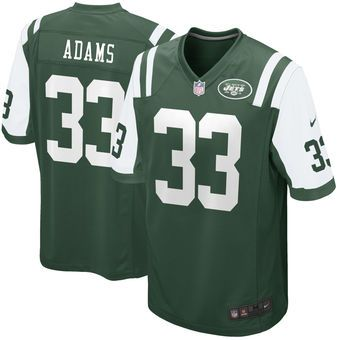 Saints Michael Thomas jersey Men's New York Jets Jamal Adams Nike Green  2017 Draft Pick Game Jersey. Find this Pin and more on wholesale cheap 2017  NFL ...