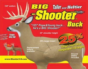 Shooter Big Buck Replacement Core Insert 72200 Hunting Stores