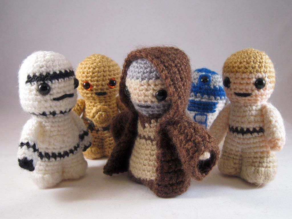 Amigurumi Star Wars Patterns : Star wars mini amigurumi patterns amigurumi star and patterns