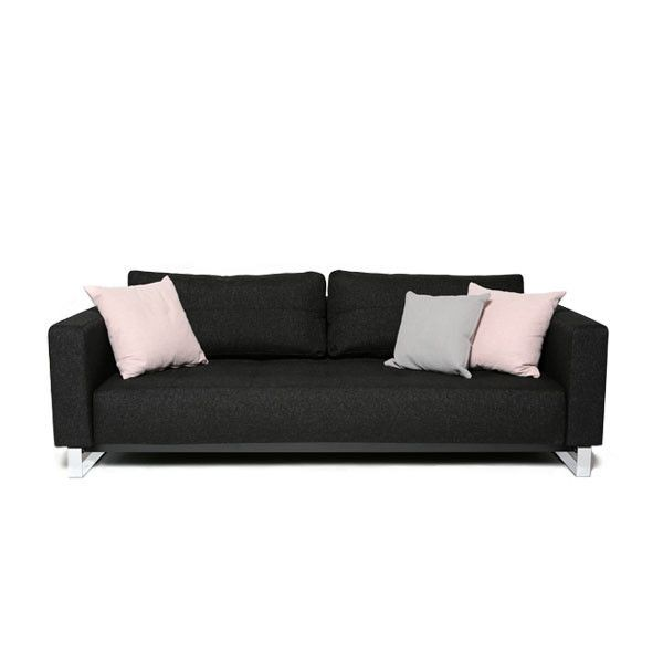 Movie Night Sofa Bed Queen Onyx