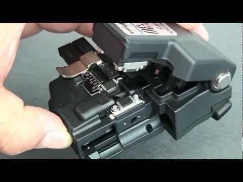 Afl Fujikura Ct 30 Precision Fiber Optic Cleaver Overview Fiber Optic Optical Fiber