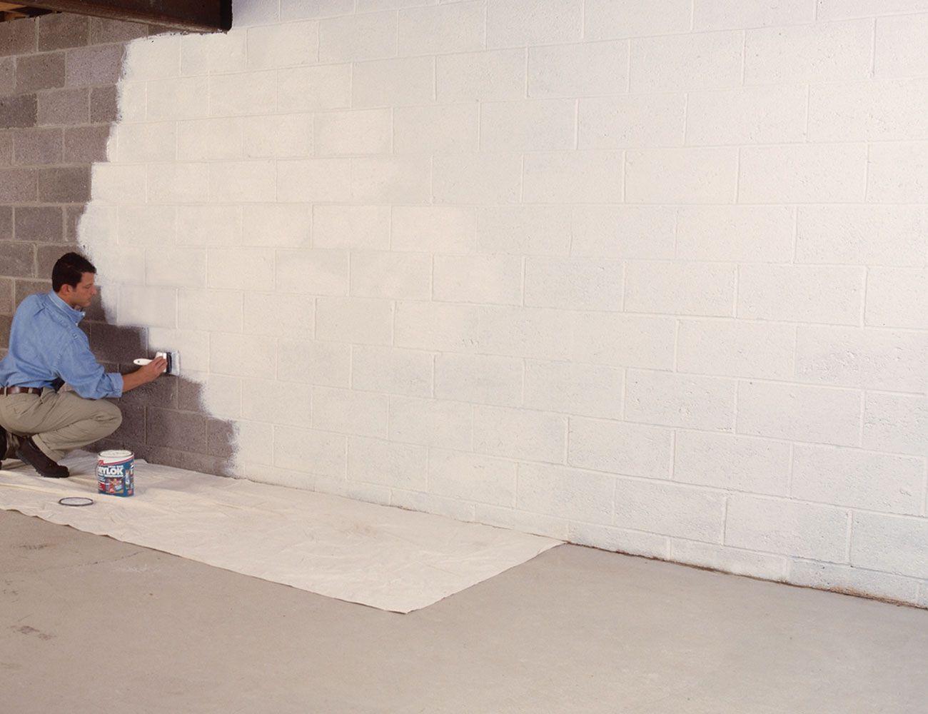 Step By Step Brick Waterproofing Concrete Basement Walls