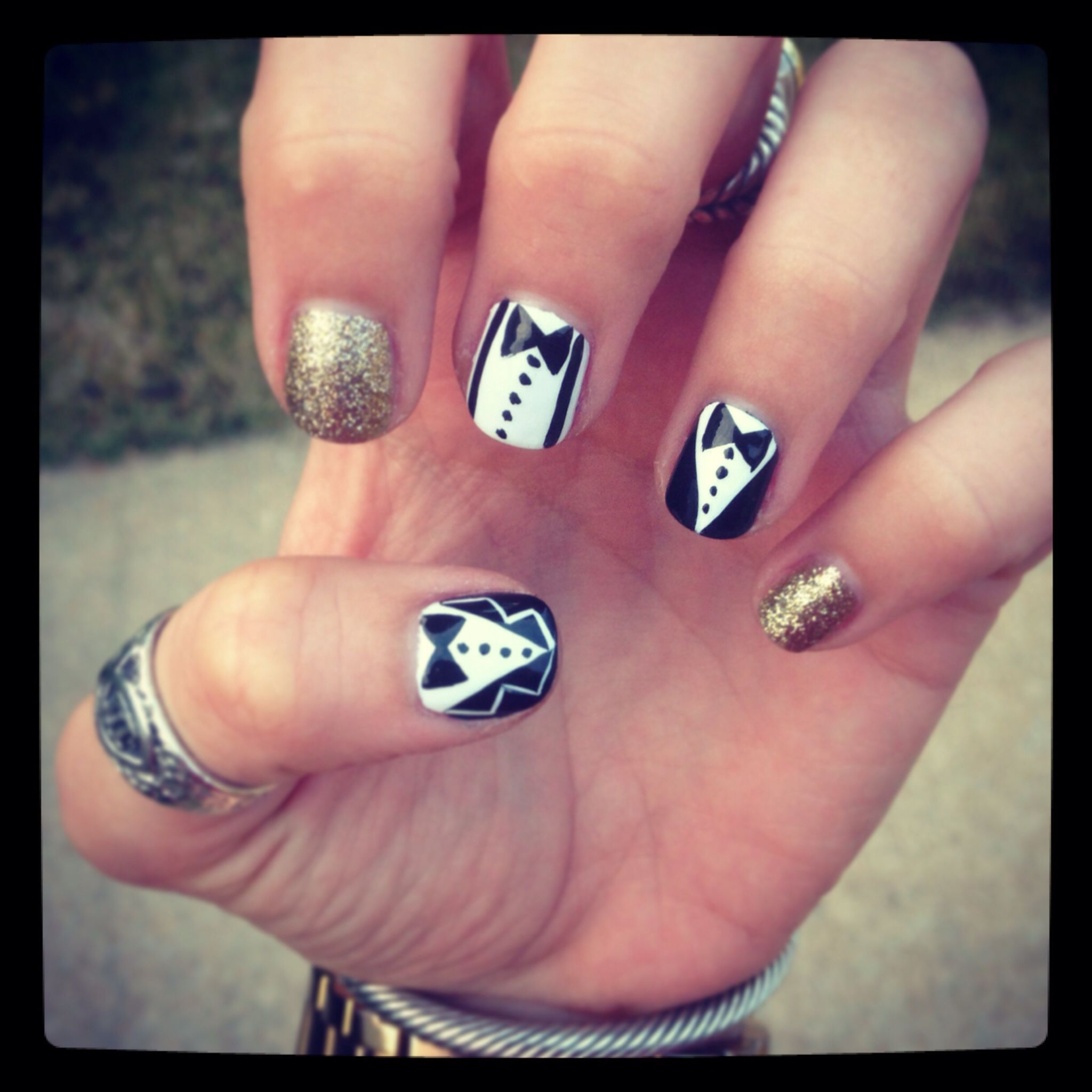 Justin Timberlake nails. Suit and tie   craftayy ...