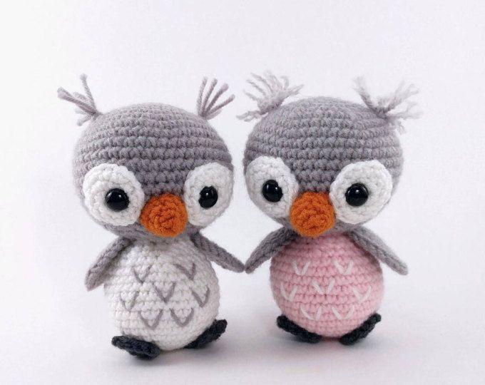 Amigurumi Snowy Owl Pattern | Miniaturas