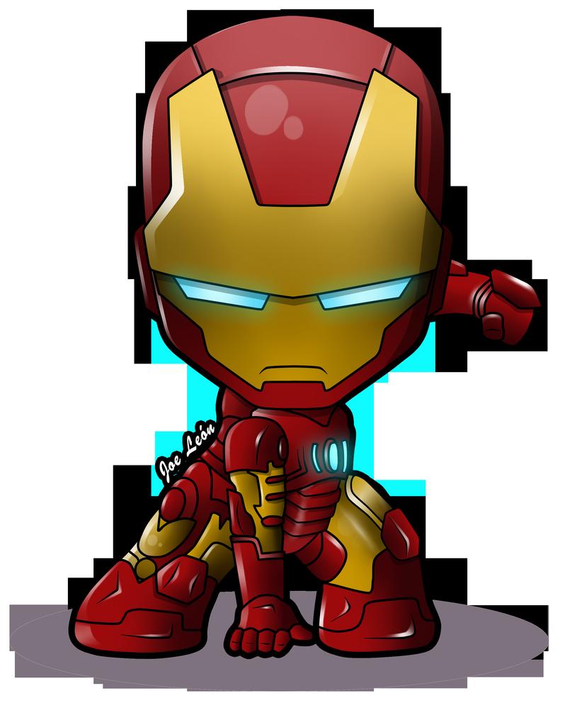 Iron-Man Chibi by JoeLeon | Iron man cartoon, Iron man art ...