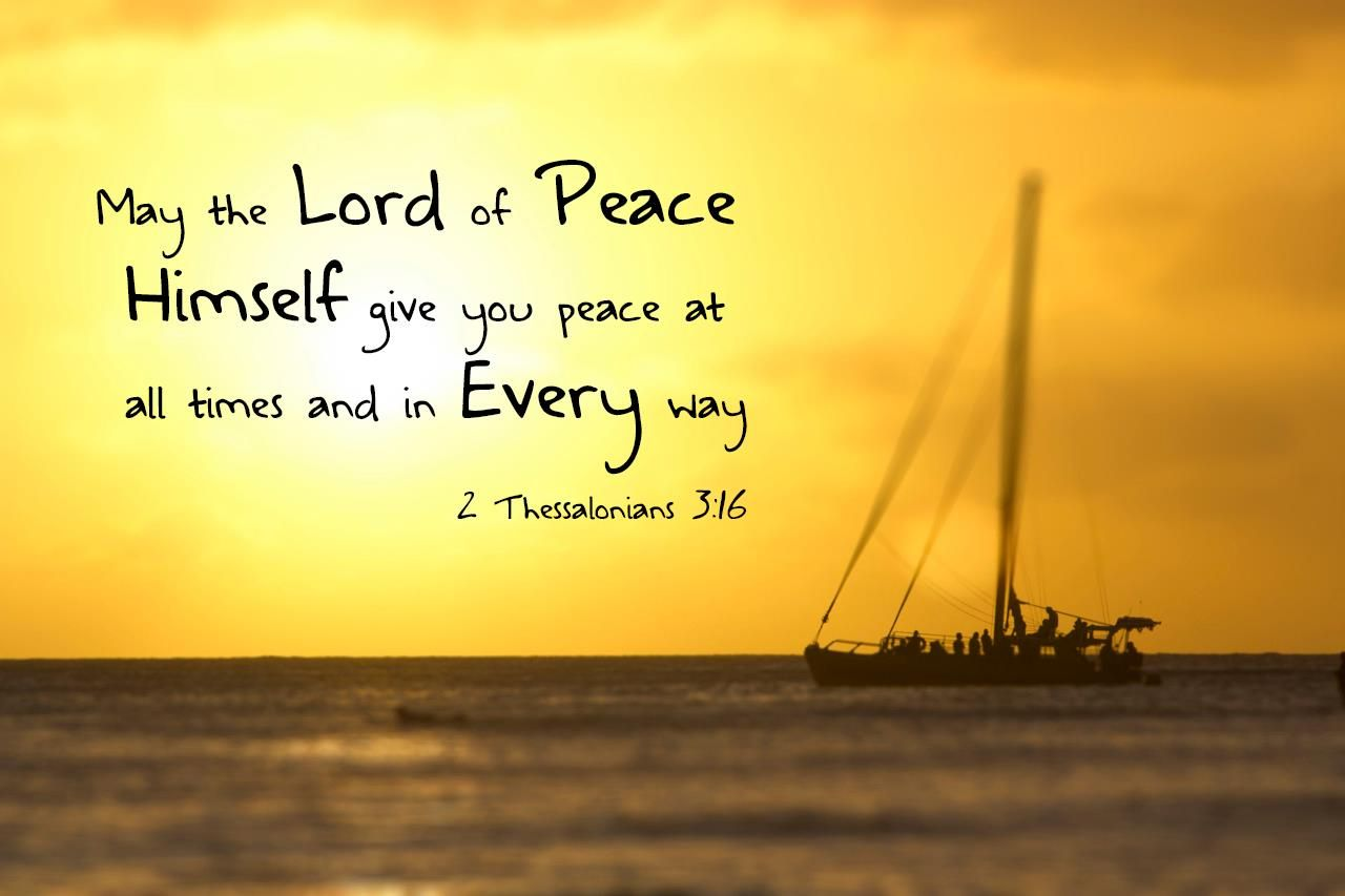 Lord of peace