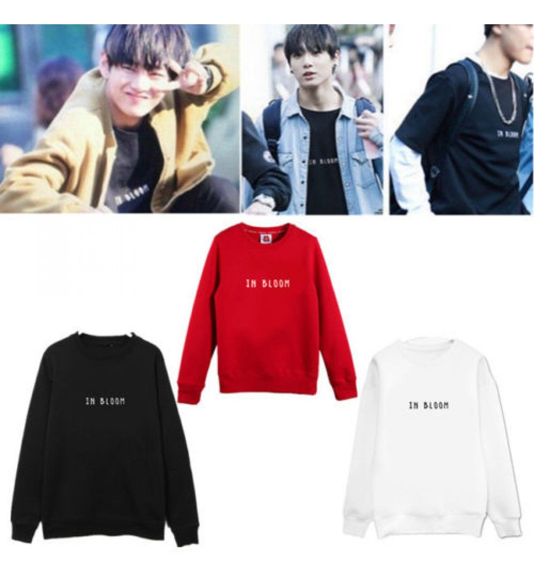 Official Kpop Korea Store Hoodie Kpop Cloth Women Hoodies Sweatshirts Letter Print Hoodie Hoodies Womens