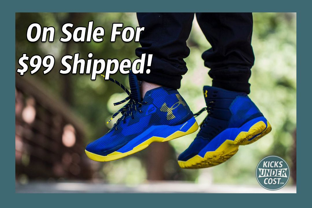 """""""Dub Nation"""" Curry 2.5 On Sale For $99 Shipped!"""