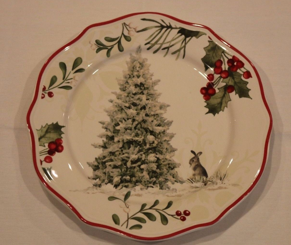 1 Better Homes & Gardens Heritage Tree Salad Plate Limited Ed ...