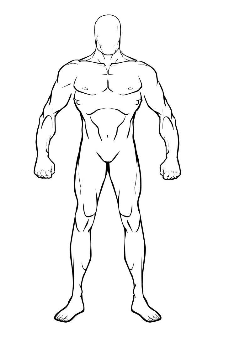 Male Body Base by BioClay88 on DeviantArt