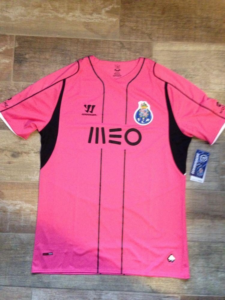 54105af51 Soccer FC Porto Third Fußball Original Jersey Football Shirt 14 15 BNWT  Pink L