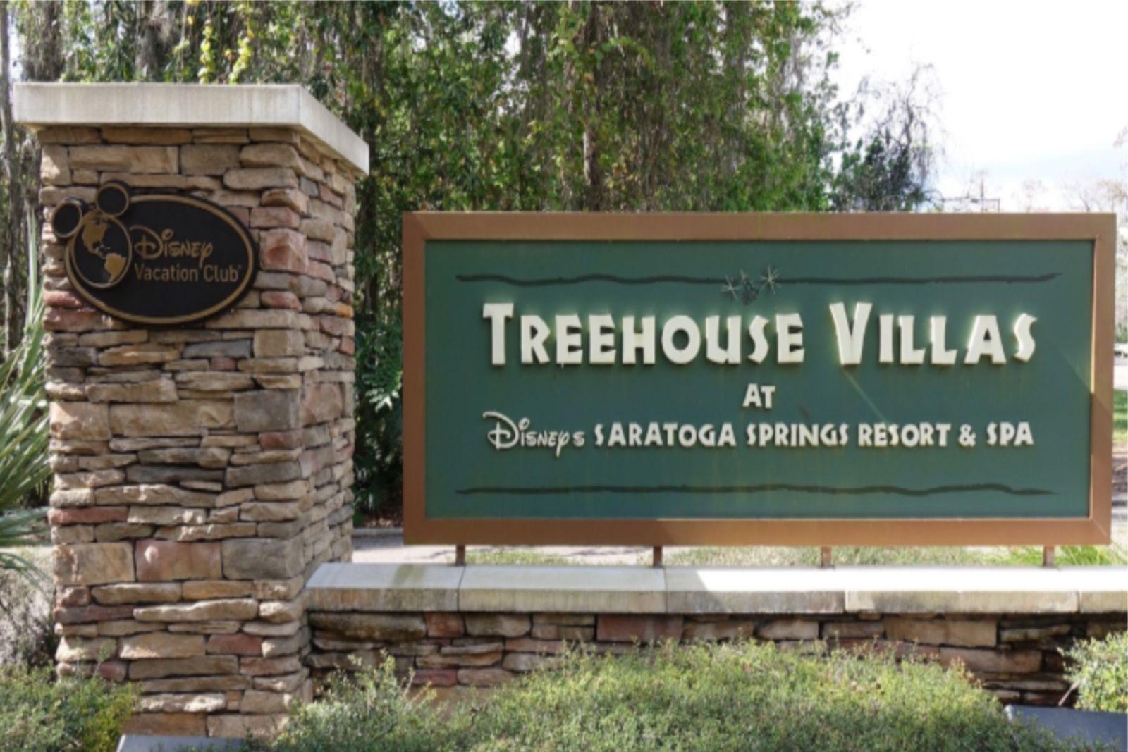 Treehouse Villas Tour at Disney's Saratoga Springs Resort