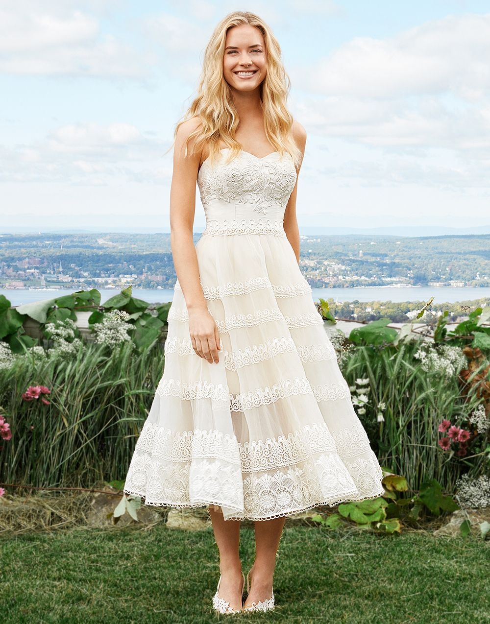 Western Tea Length Wedding Dresses Wedding Dresses dressesss 86dbcb5b3cc8