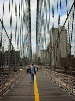 Manhattan View Brooklyn Bridge Brooklyn Bridge Nyc Trip Brooklyn