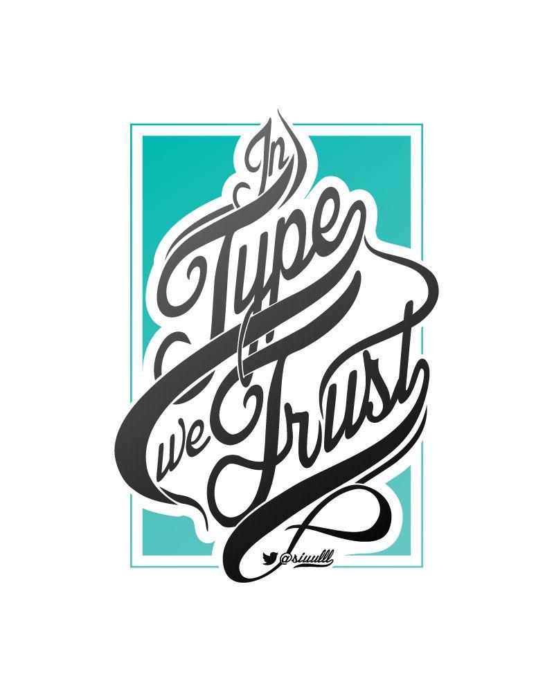Typography Mania #205 | Abduzeedo Design Inspiration