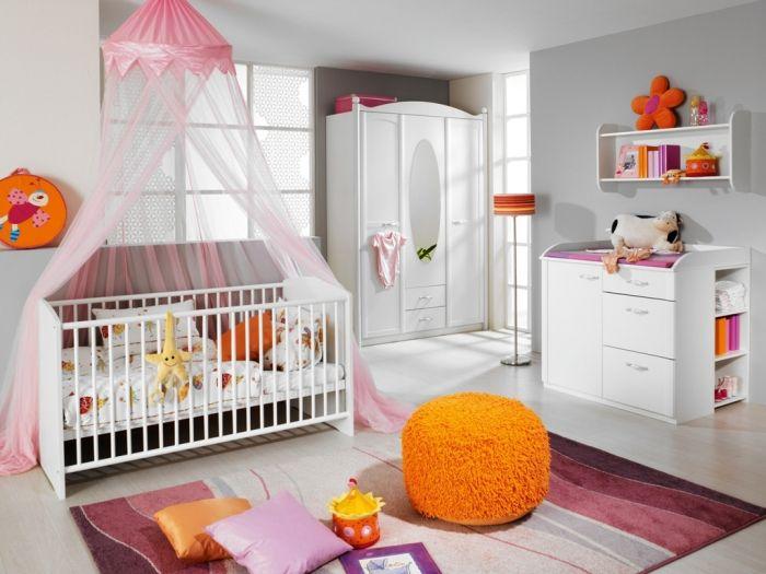 Rauch Babyzimmer ~ Leviana babybett alpinweiß in kombination mit kleiderschrank