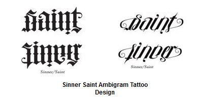 21 Exceptional Ambigram Tattoos Ambigram Tattoo Ambigram Tattoos