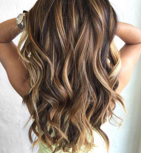 62 Pretty Colors And Fall Hair Highlights Ideas Fall Hair