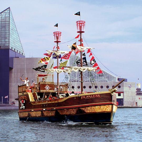 Urban Pirates Baltimore Md Kid Friendly Activity