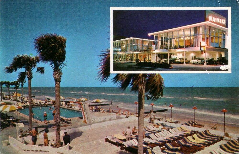 WAIKIKI MOTEL Miami BEACH Fla in 2020 Waikiki hotels