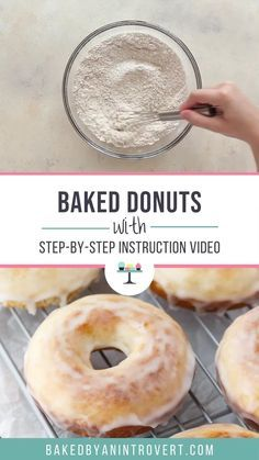 Old-Fashioned Baked Donuts