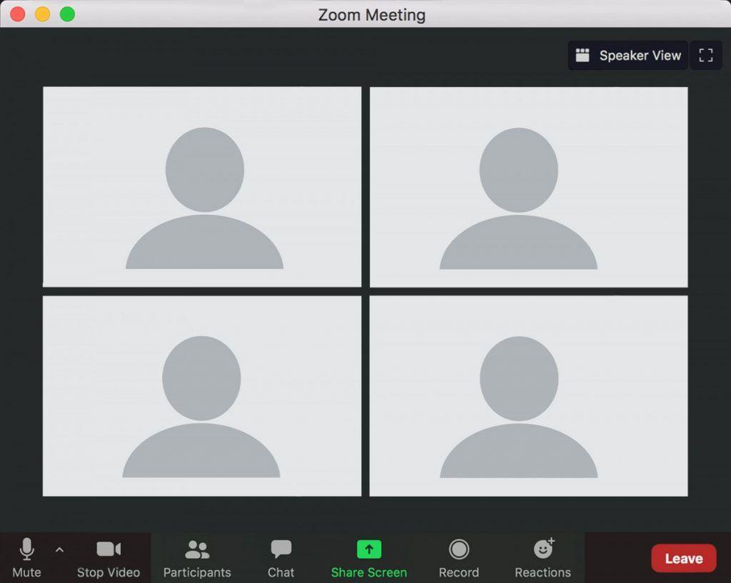 Zoom Meeting Template Manipulasi Foto Bingkai Foto Ilustrasi Pendidikan