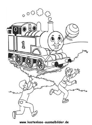 Malvorlage Thomas Die Lokomotive