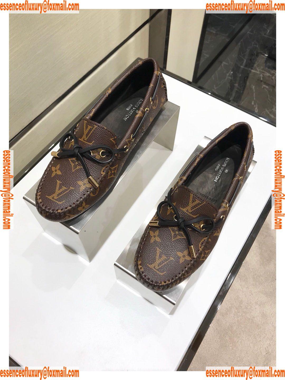 c24350aa86ff Louis Vuitton Monogram Gloria Flat Loafer Lv Designer Shoes 35 To 39