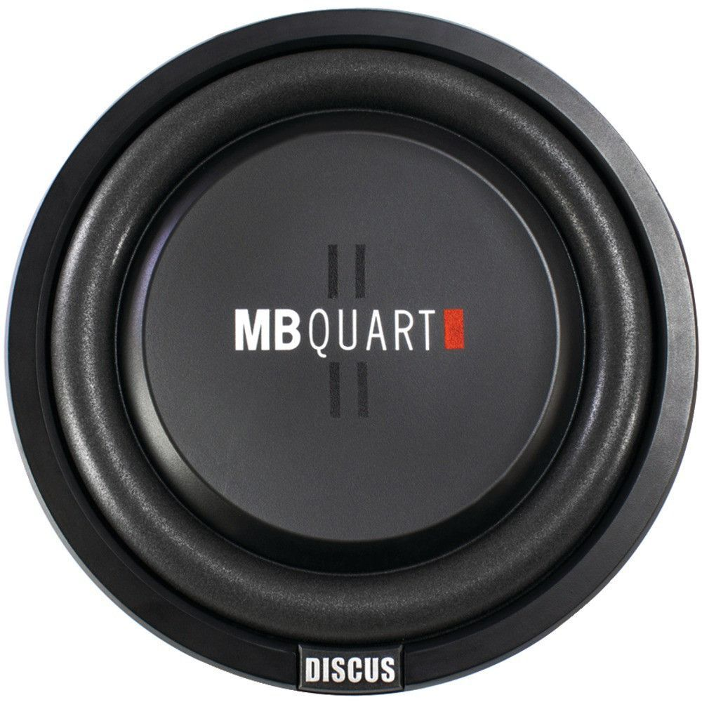 Mb Quart Discus Series 400 Watt Shallow Subwoofer 12 Products 250 Rms 4channel Car Amplifier Amp Wire Kit Audio Savings