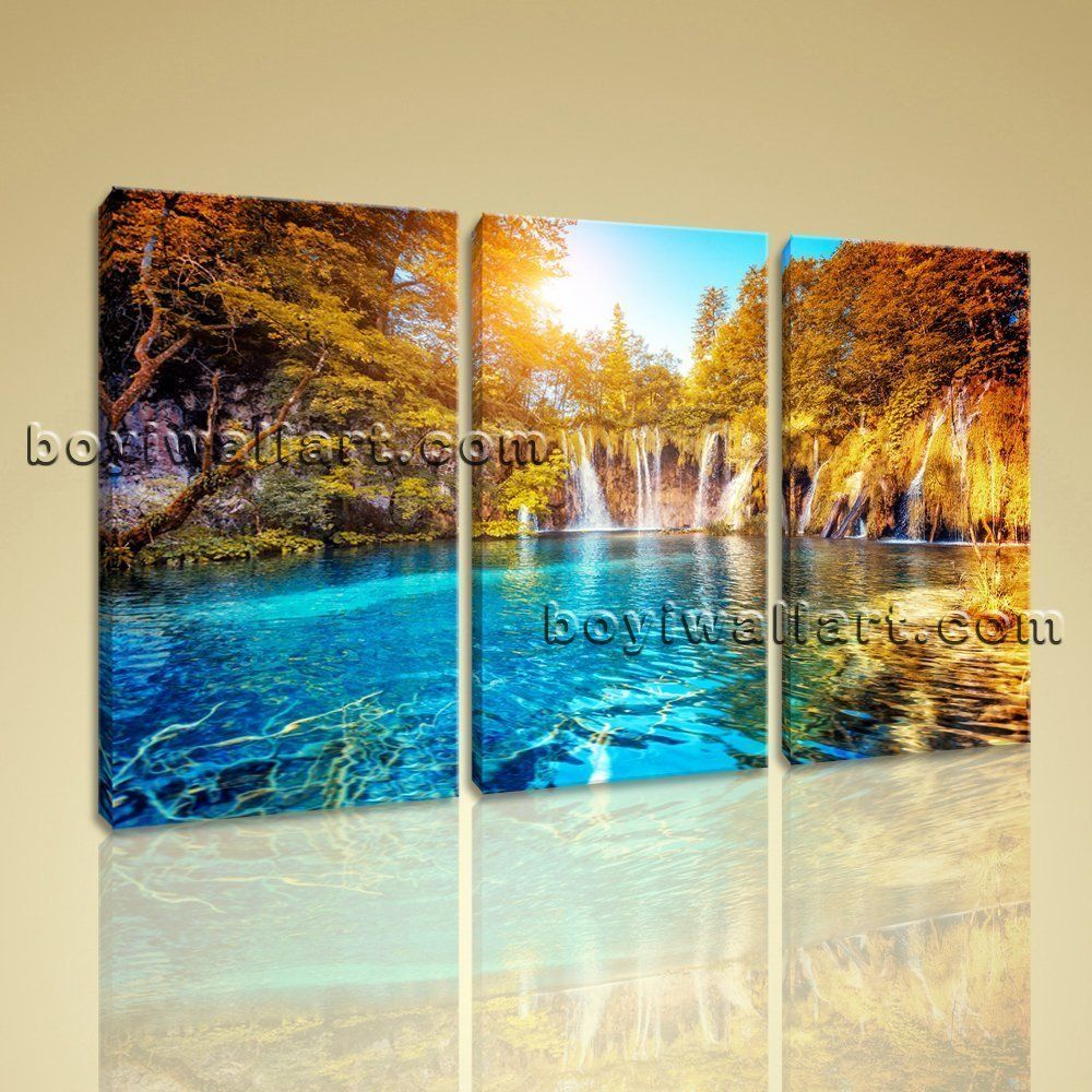 Large famous resort landscape contemporary canvas art print home