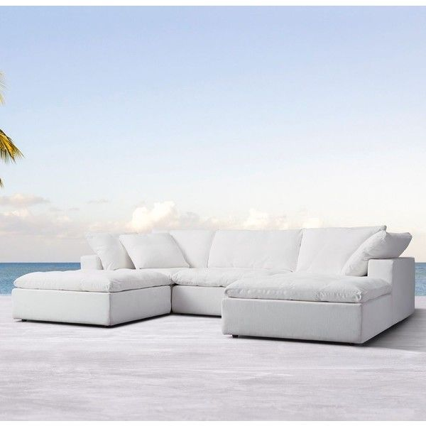 Cloud Track Arm Outdoor U-Sofa Sectional ($12,955) ❤ liked on ...