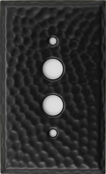 Hammered Black 9501 Light Switch Cover 1Gang x 26 9502 2Gang