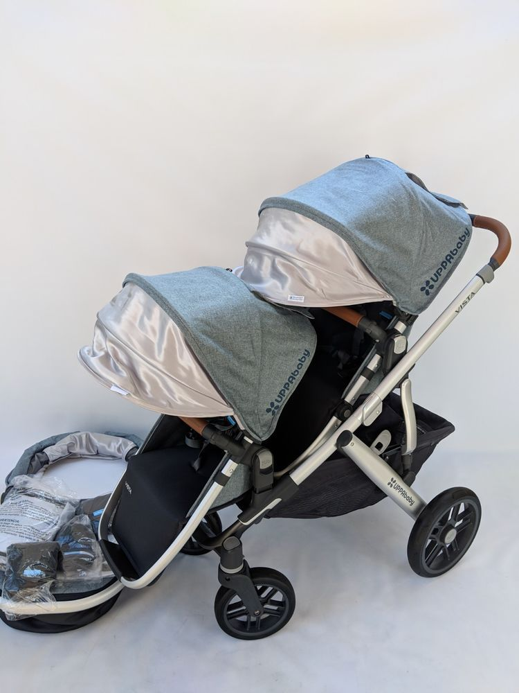 Uppababy Vista Double stroller 2018 Gregory UPPAbaby