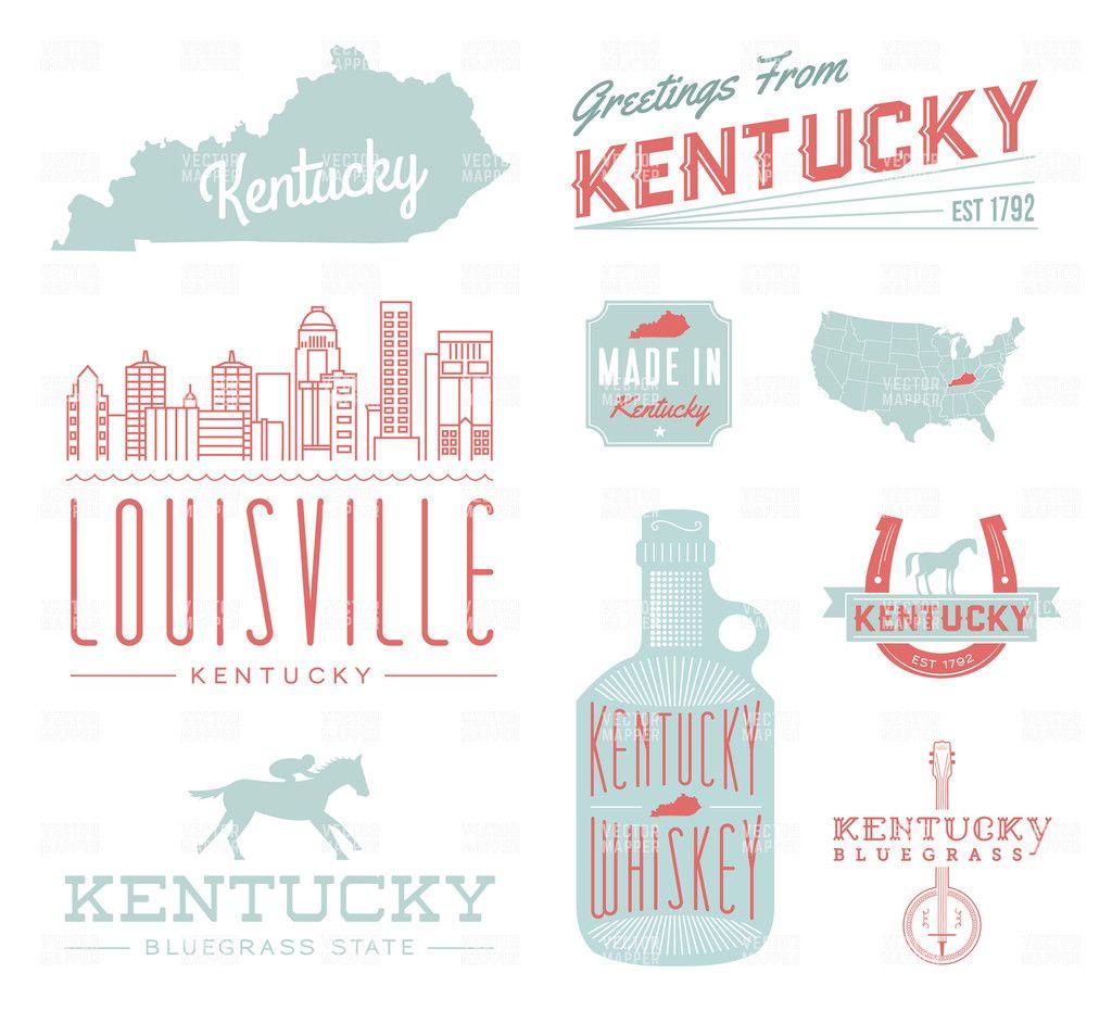 Kentucky Typography Graphics | sign kentucky/uk | Pinterest