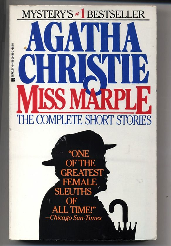 Miss Marple The Complete Short Stories Agatha Christie Berkley 1986 Agatha Christie Miss Marple Agatha Christie Books