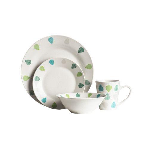 Geschirrset Green Leaf Aus Porzellan Jetzt Bestellen Unter: Https:/