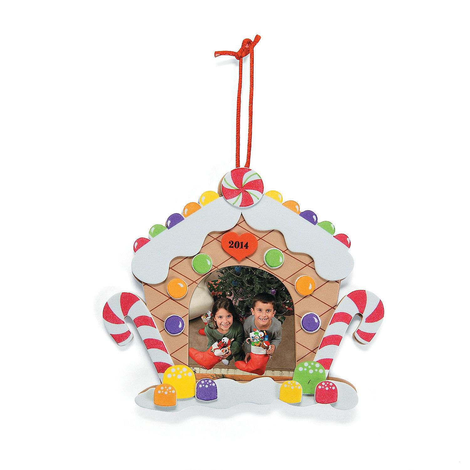 Gingerbread House Picture Frame Craft Kit