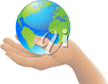 Iclipart Hand Holding The World Globe Hands Holding The World World Globe Globe