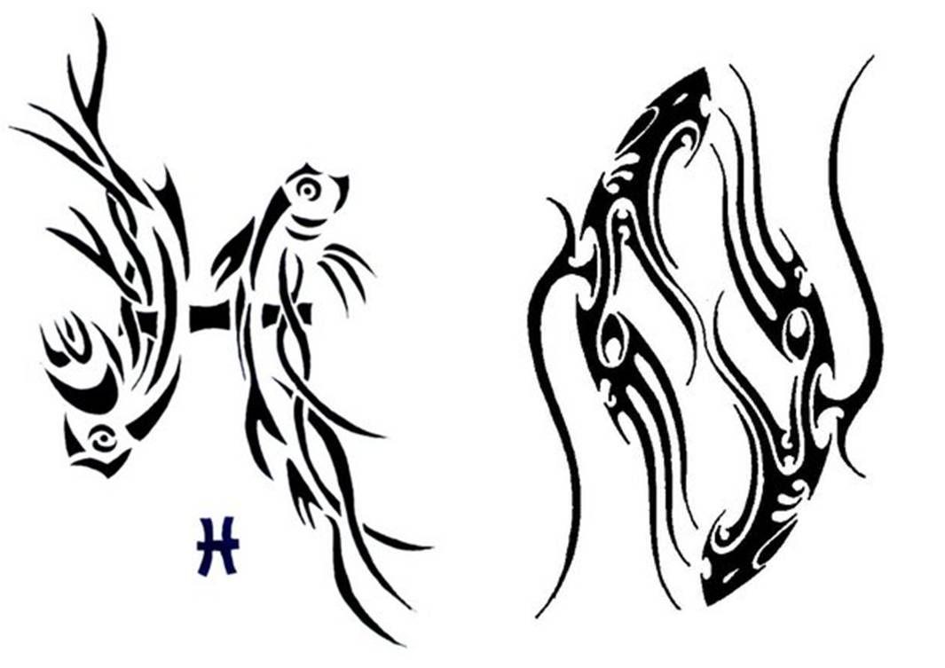 28++ Tatouage signe astrologique poisson tribal ideas