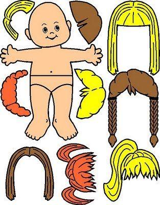 Ministério Infantil Crianças para Cristo: Bonequinhos para aula da travessia do mar vermelho