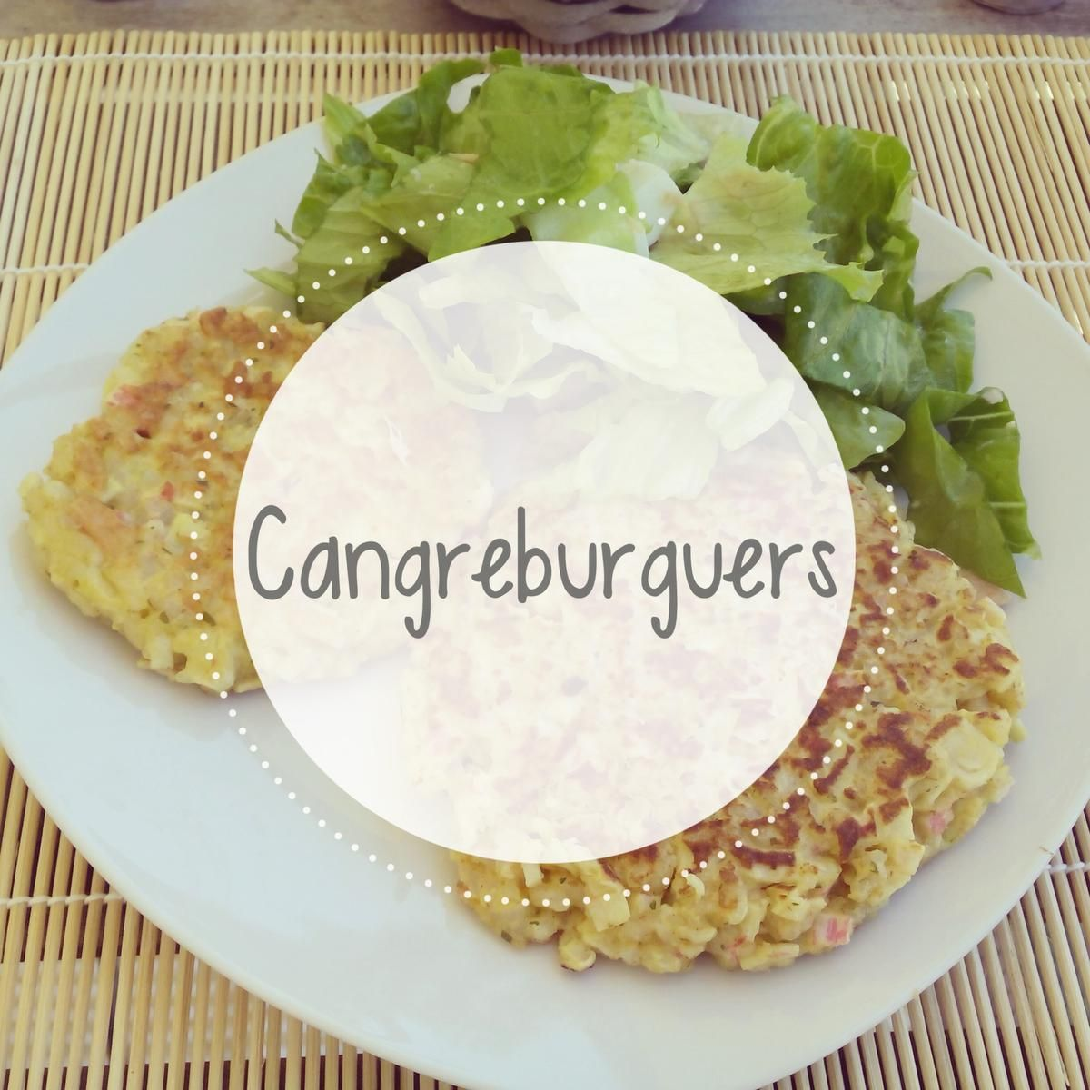 Deliciosas Y Sanas Cangreburguers Cocinar En Casa Es Facilisimo Com Arroz Integral Palitos De Cangrejo Sana