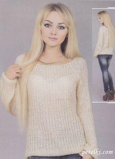 Схема вязания свитера английской резинкой фото 458