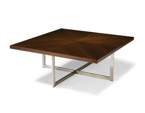 eXport Square Cocktail Table - Thayer Coggin | Decomadera | Pinterest
