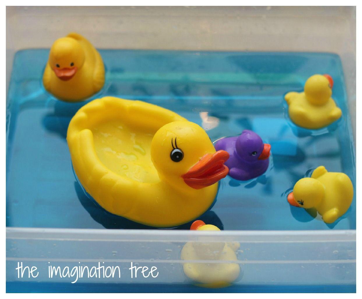 Five Little Ducks Storytelling Water Play