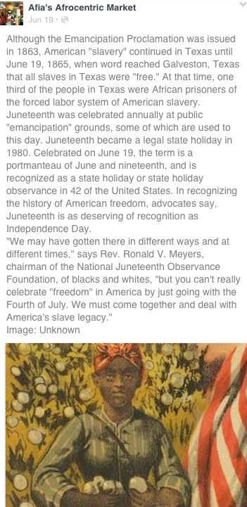 History Of Juneteenth African History African American History