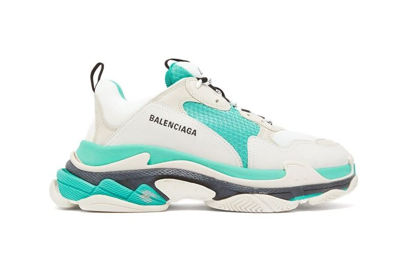 Balenciaga's Triple S Drops With Fresh Turquoise Color