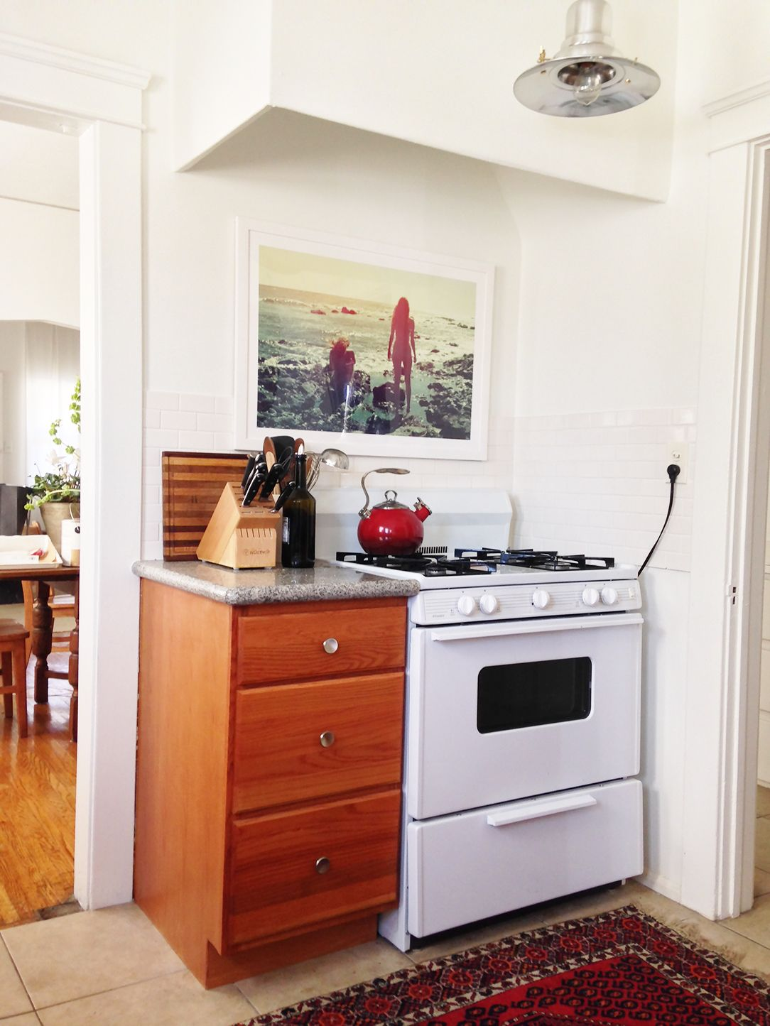 Before And After: An Affordable Rental Kitchen Makeover